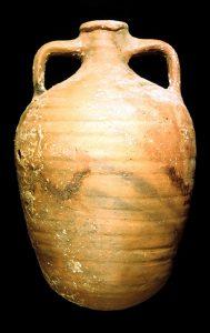 An example of a 'pyriform' Class 1 amphora (Photo: INA, BK98.16).
