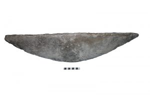 Fig. 6 Boat-shape ingot.