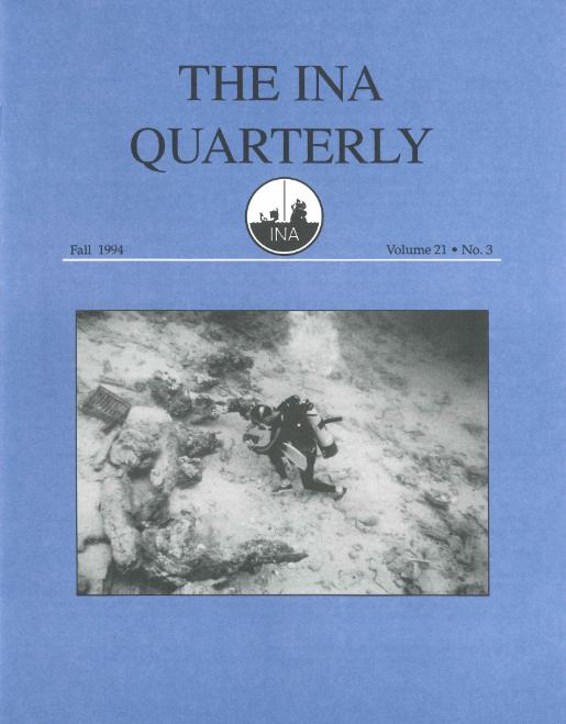 INA Quarterly 21.3 Fall 1994
