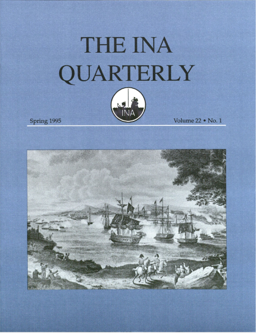 INA Quarterly 22.1 Spring 1995