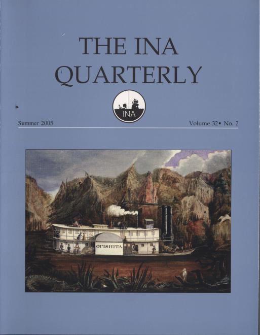 INA Quarterly 32.2 Summer 2005