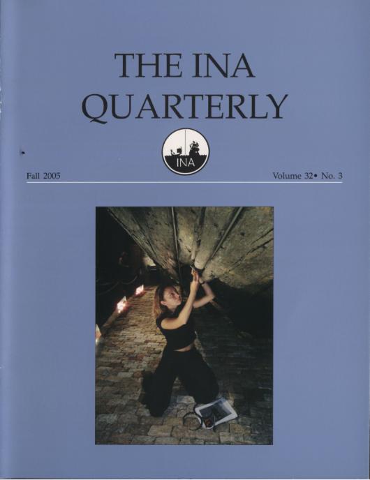 INA Quarterly 32.3 Fall 2005