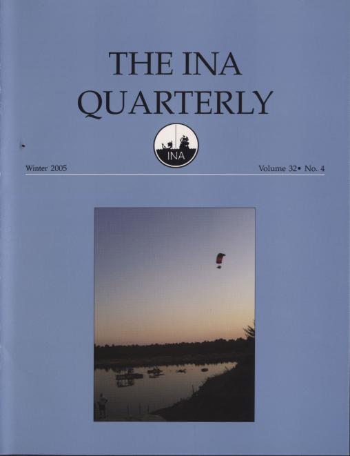 INA Quarterly 32.4 Winter 2005