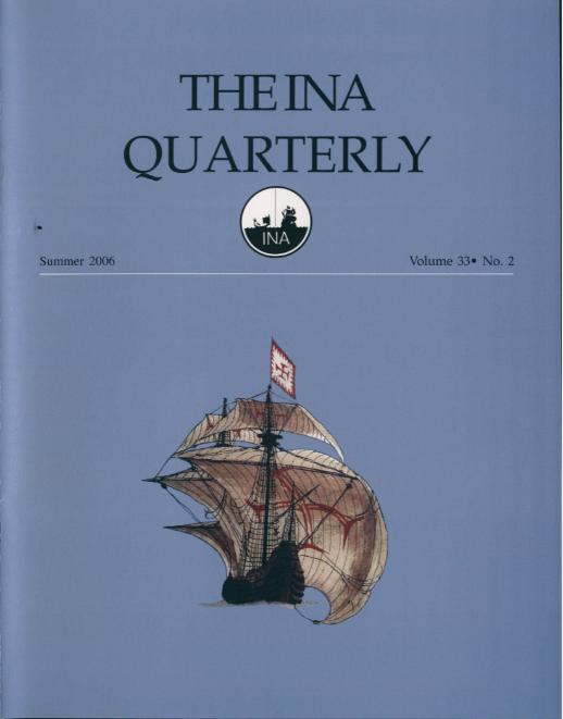 INA Quarterly 33.2 Summer 2006