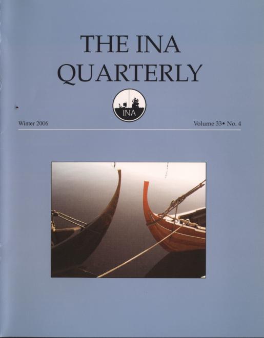 INA Quarterly 33.4 Winter 2006