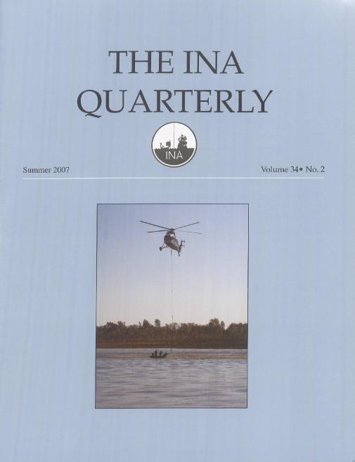 INA Quarterly 34.2 Summer 2007