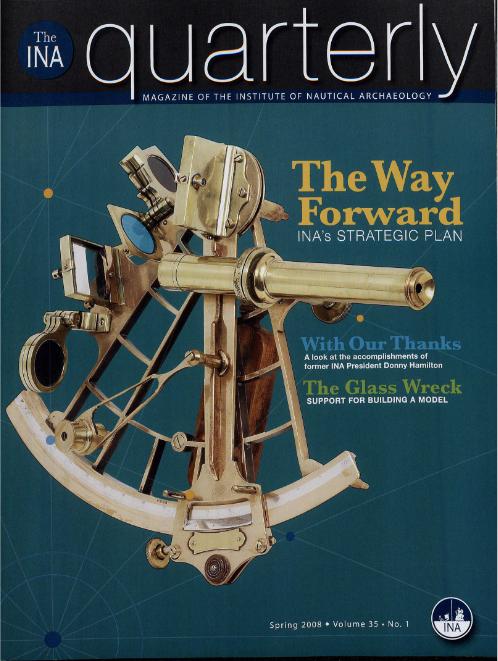 INA Quarterly 35.1 Spring 2008