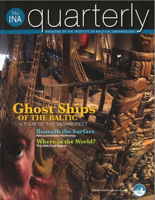 INA Quarterly 36.1 Spring 2009