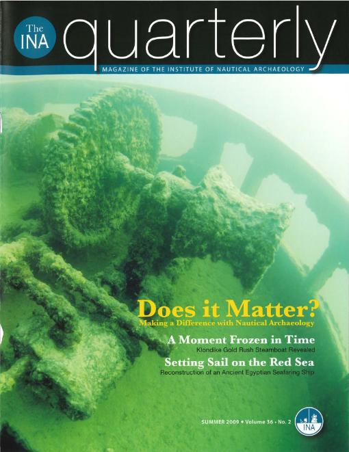 INA Quarterly 36.2 Summer 2009