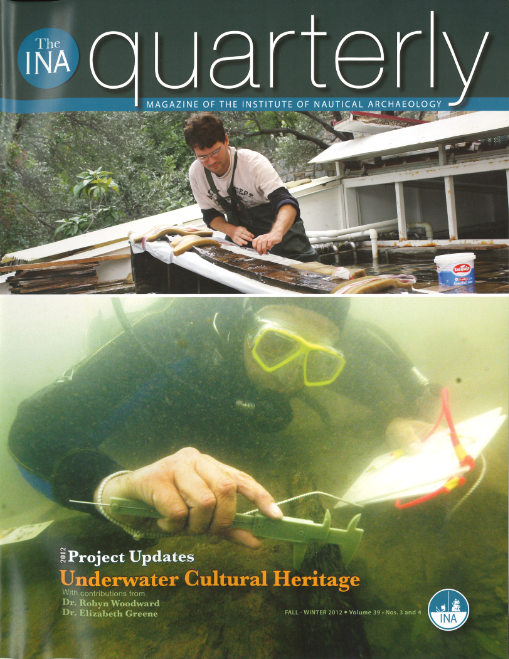 INA Quarterly 39.3/4 Fall/Winter 2012